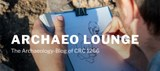 Screenshot Startseite Archaeo Lounge
