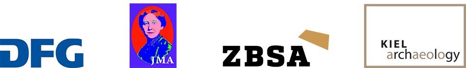Logos DFG JMA ZBSA Kiel Archaeology