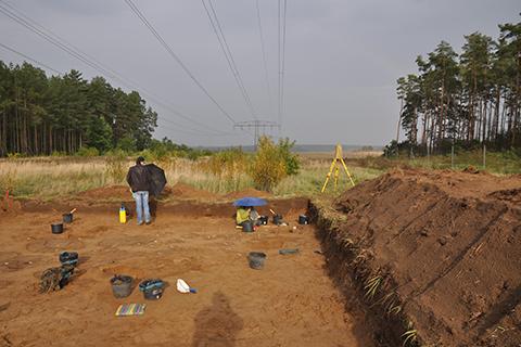 Excavation (D3 project) Dobbin 2019, Mecklenburg-Western Pomerania